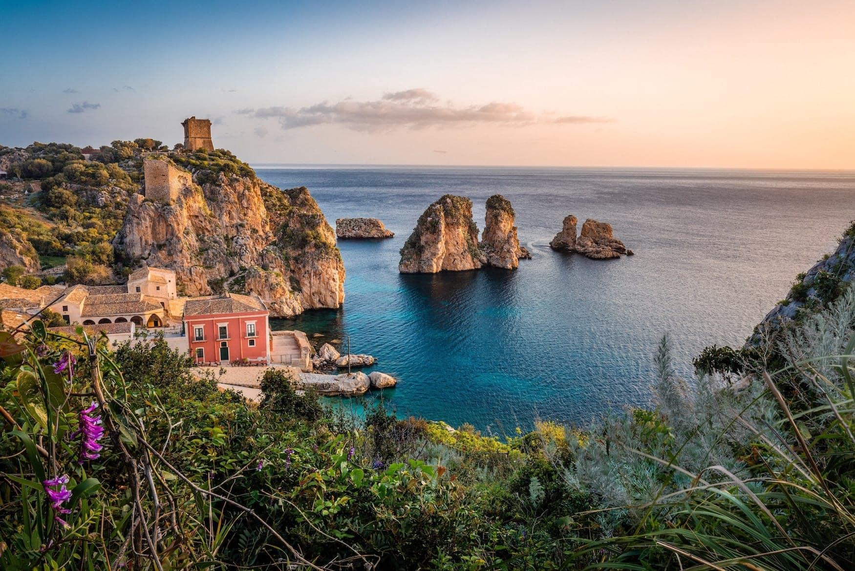 Sizilien in Wintersonne