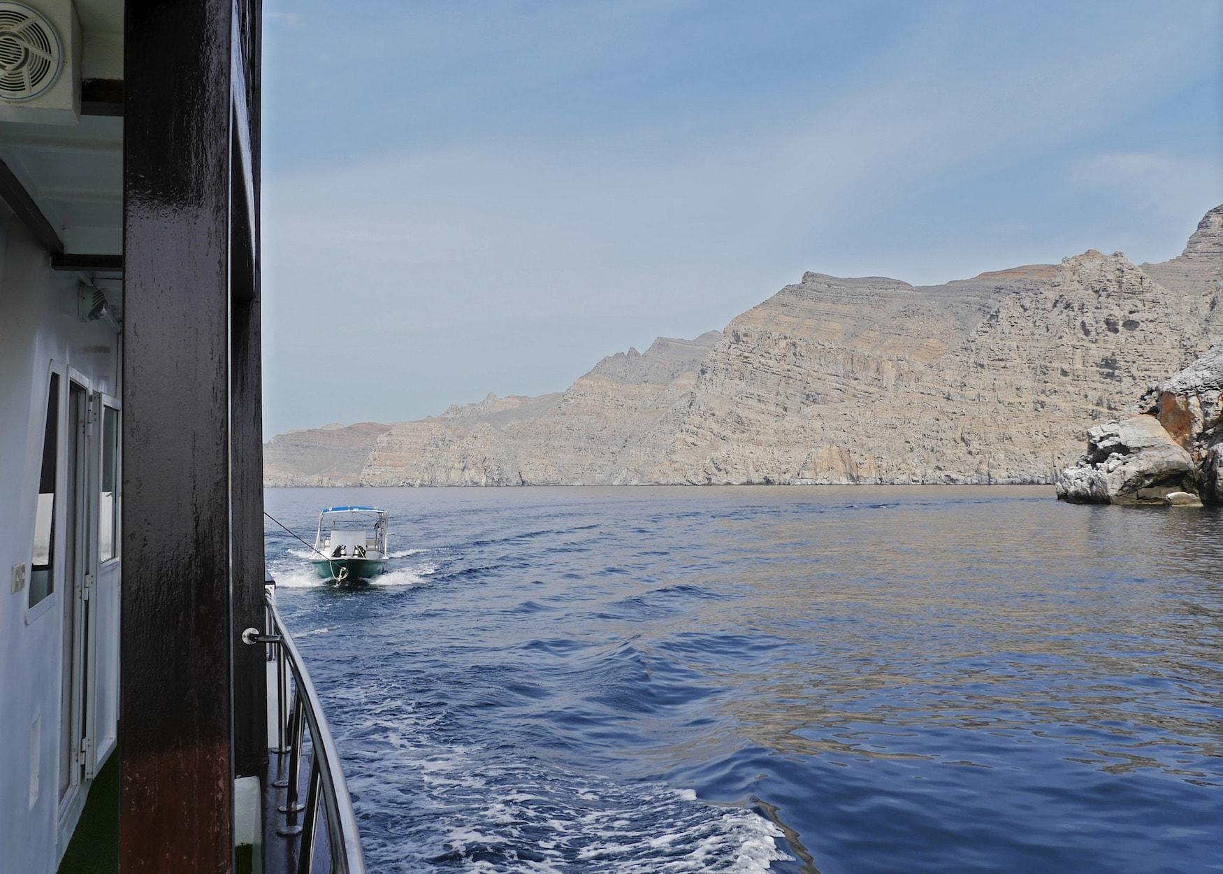 Auf der Queen unterwegs im Oman