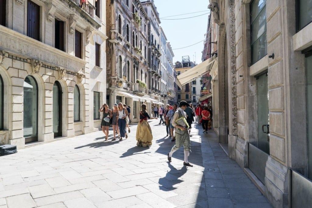 Calle Grande XXII Marzo Venedig