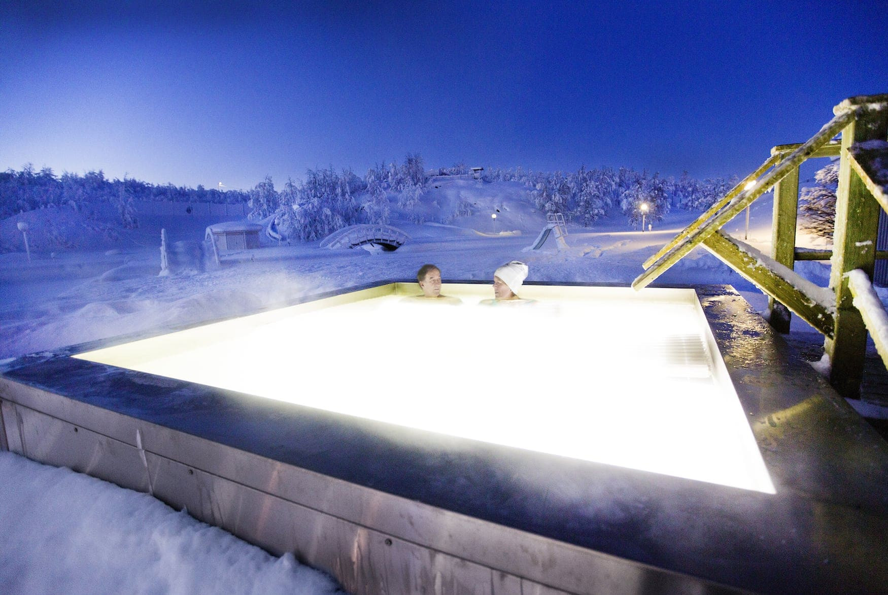 Aurora Spa im Camp Rippen