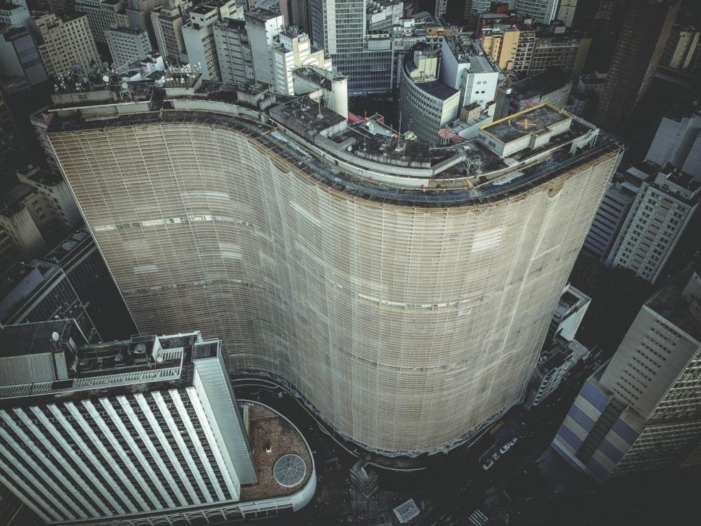 Copan-Gebäude in Sao Paulo