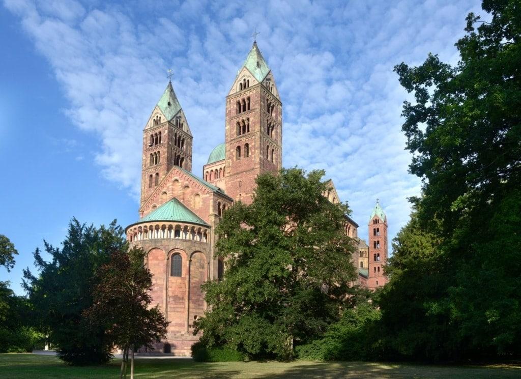 Außenansicht des Doms zu Speyer