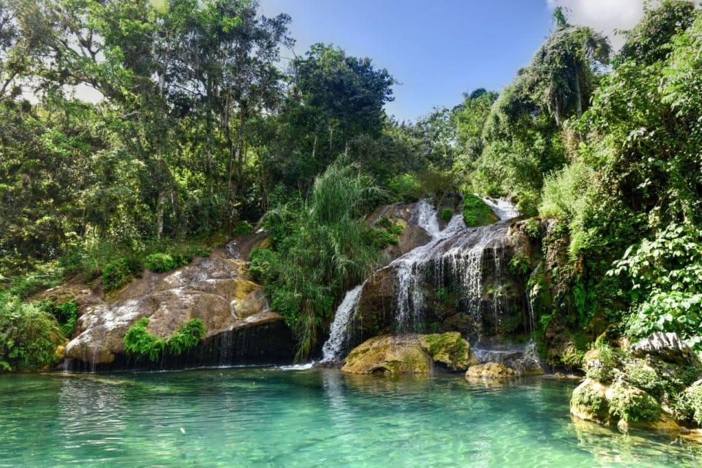 El-Nicho-Wasserfall auf Kuba