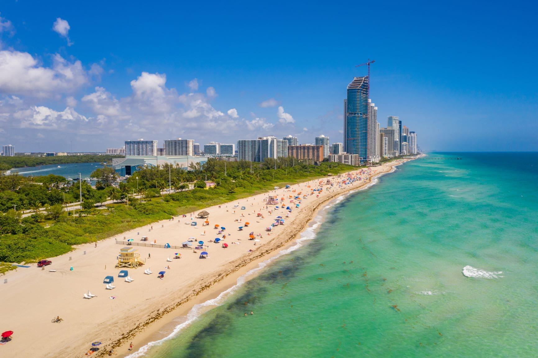 Haulover Park Beach in Miami