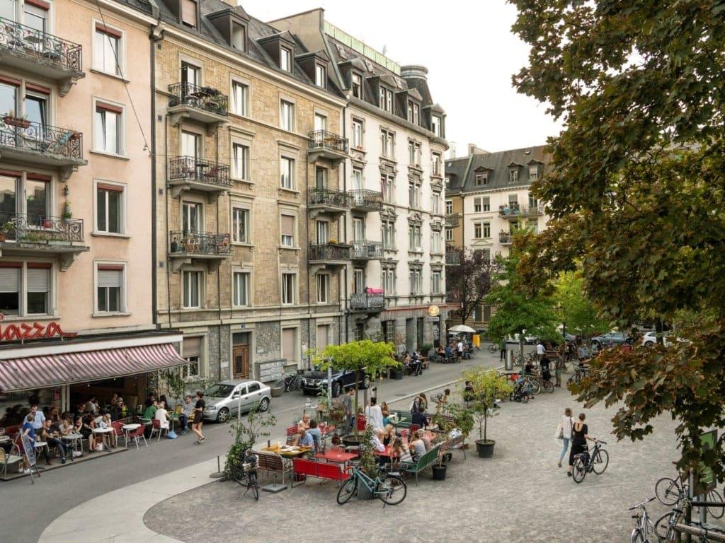 Idaplatz in Zürich