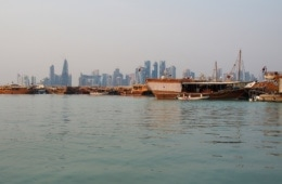 Sehenswürdigkeiten in Katar: Dhow-Fahrt