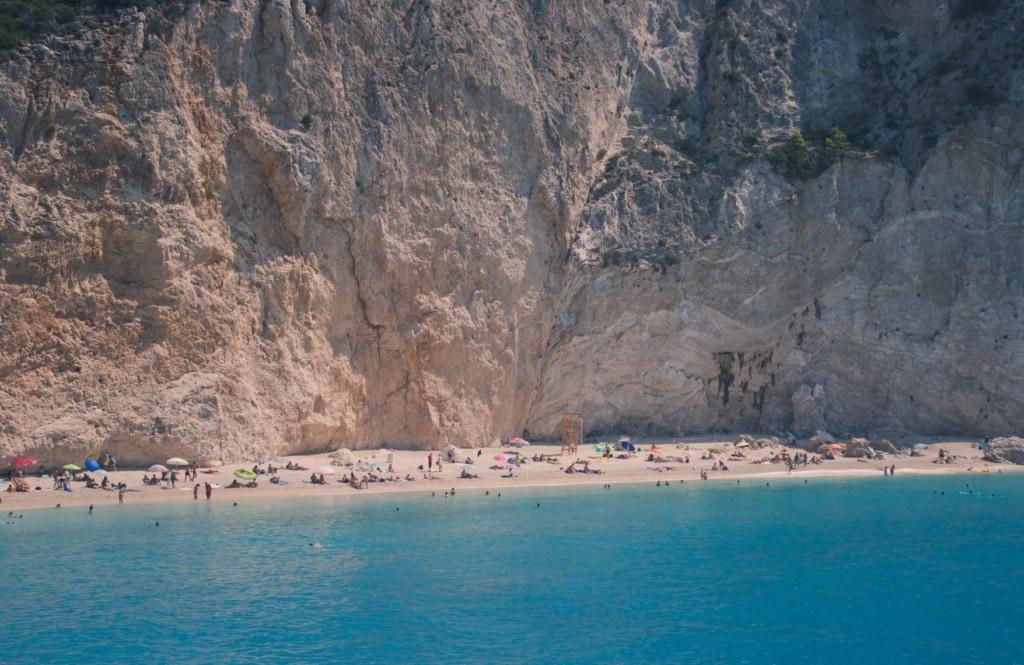 Katsiki-Bucht in Griechenland