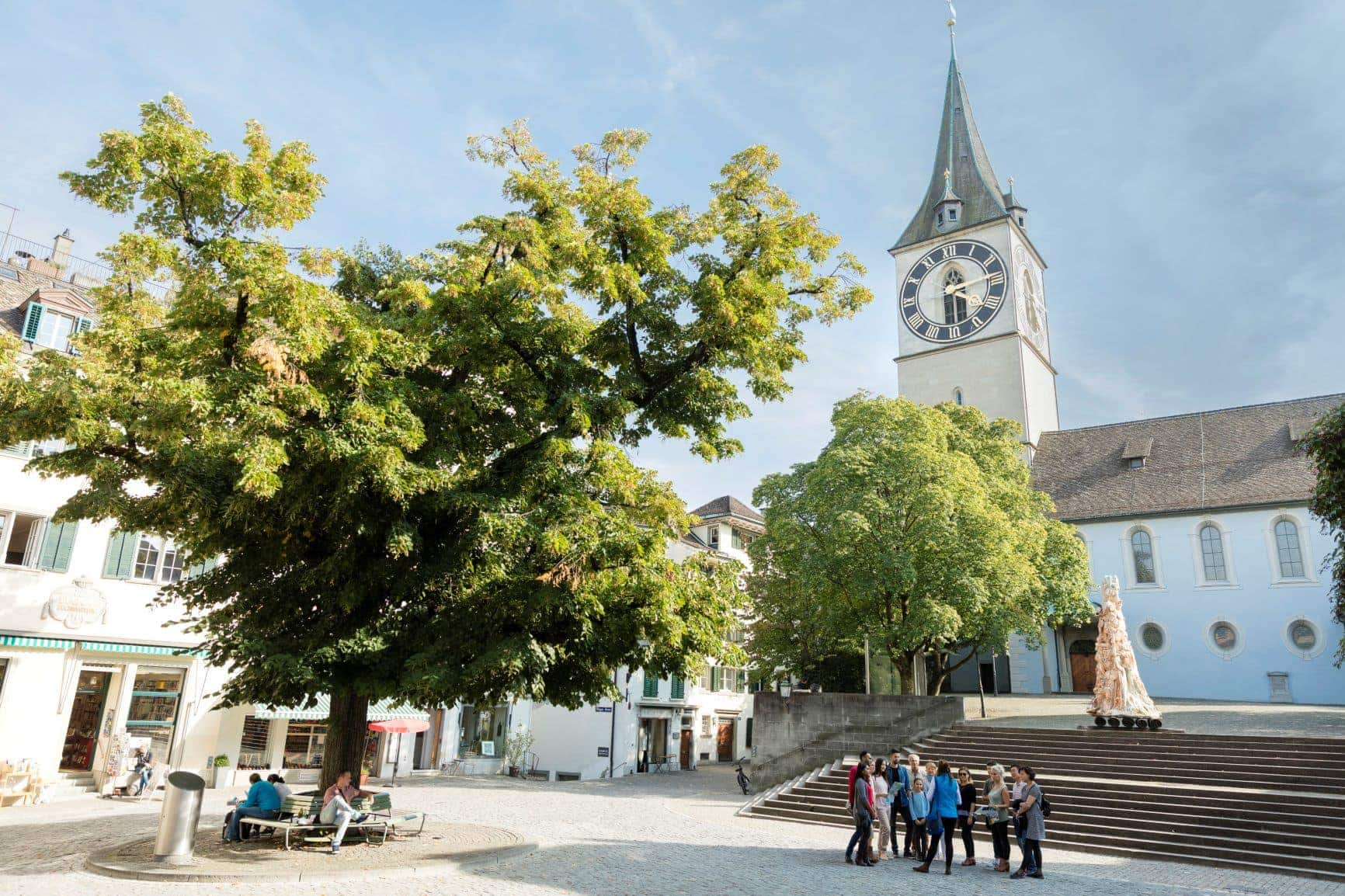 Kirche St. Peter in Zürich
