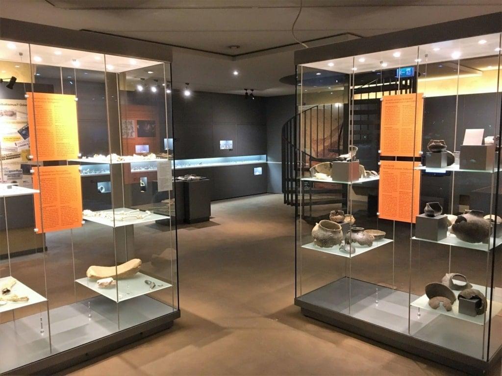 Museum Herxheim, Ausstellungsraum
