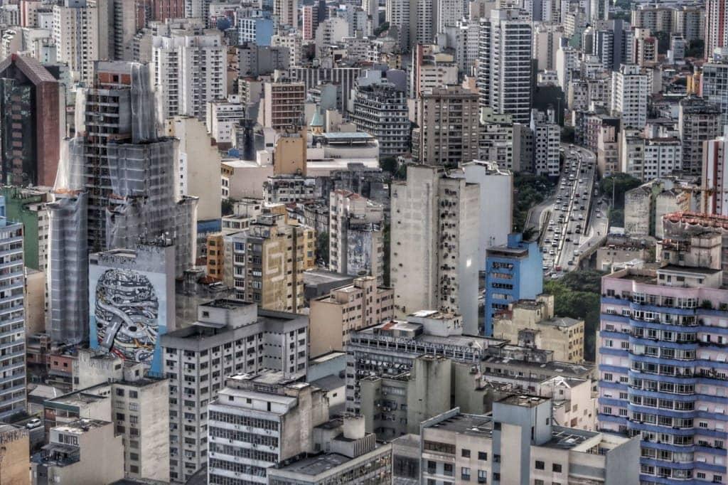 Hochhäuser in São Paulo