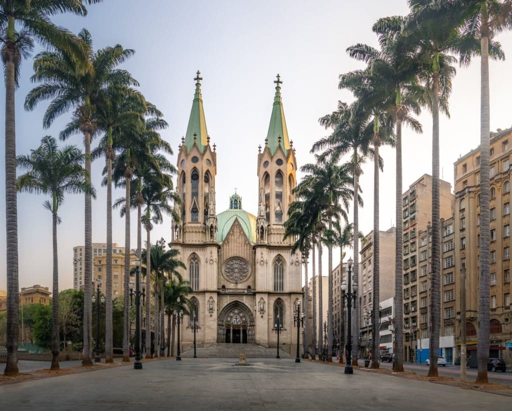 Kathedrale in Sao Paulo