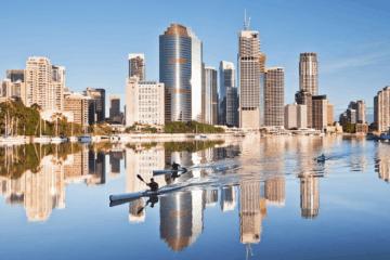 Mit Singapore Airlines fliegt es sich entspannt nach Brisbane.