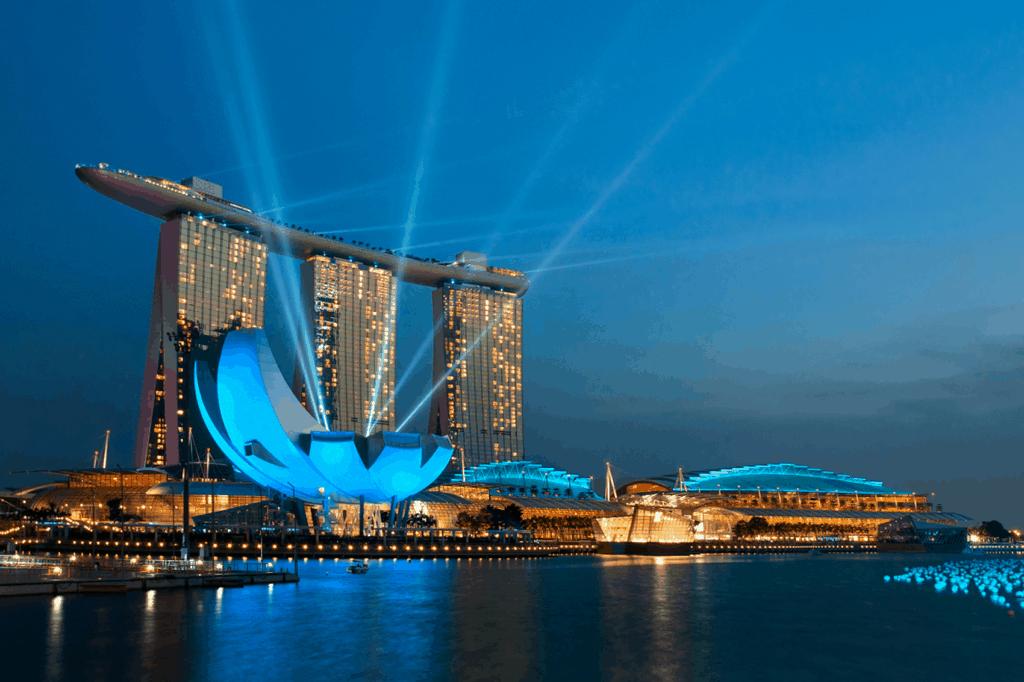 Auf dem Weg nach Australien lässt sich prima ein Zwischenstopp in Singapur einrichten.