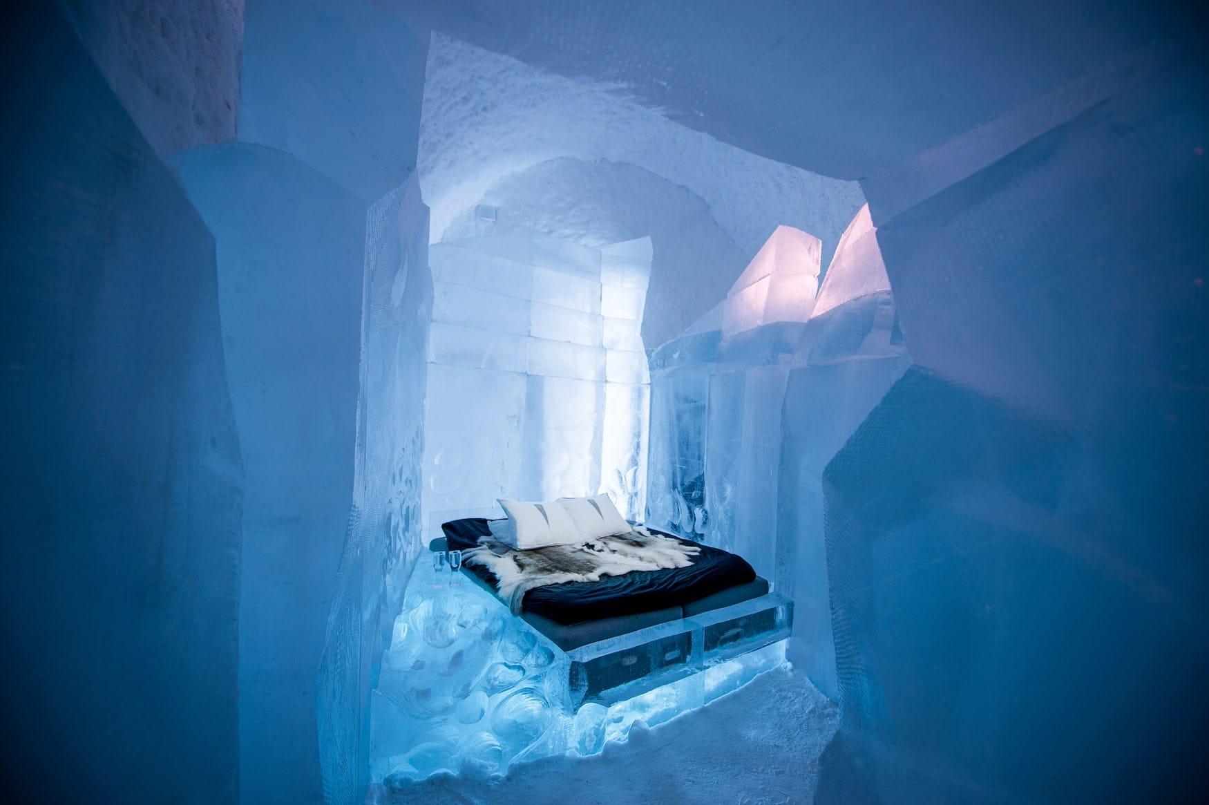 ice Hotel in Schwedisch Lappland