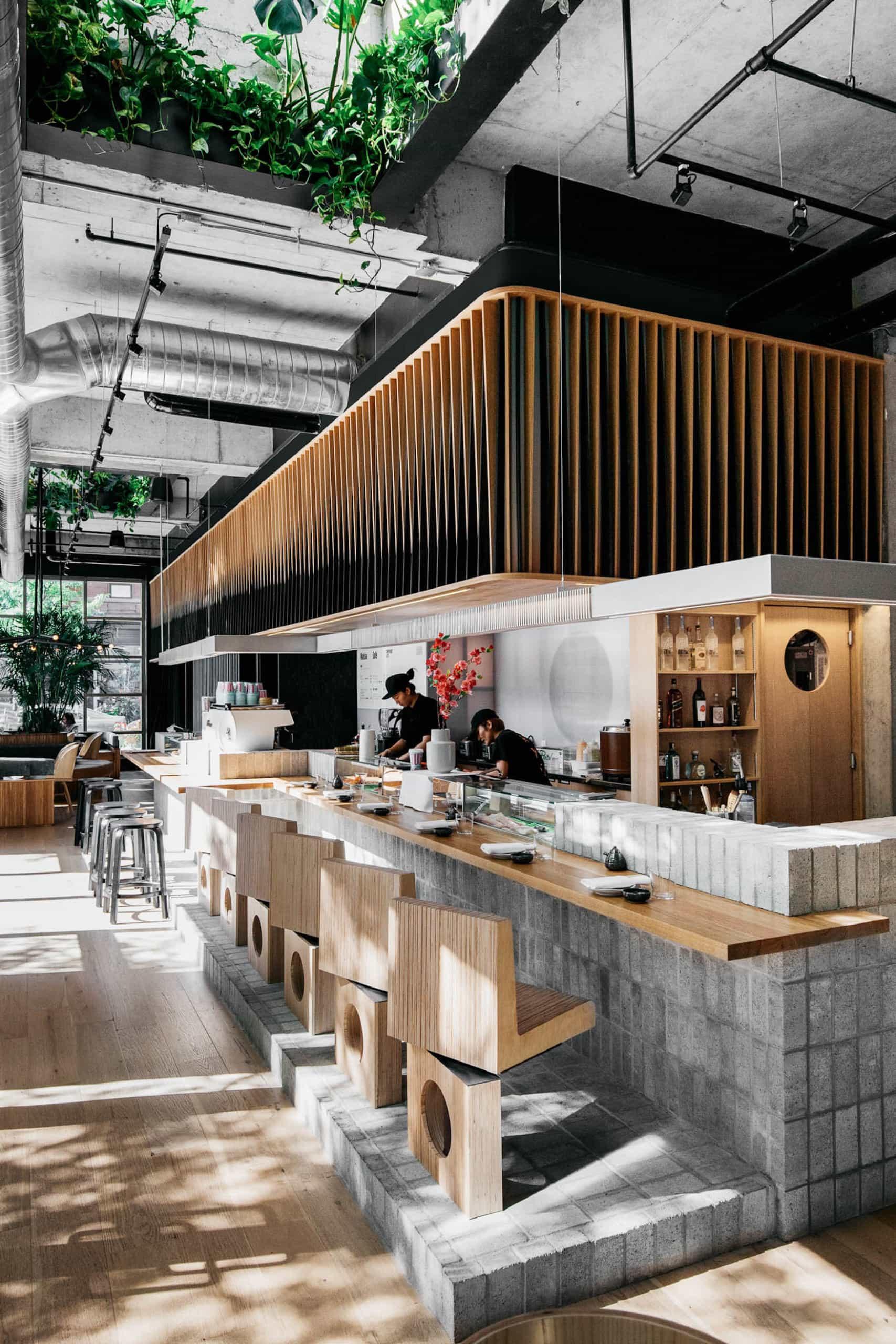 Ryù Restaurant in Montreal, Kanada