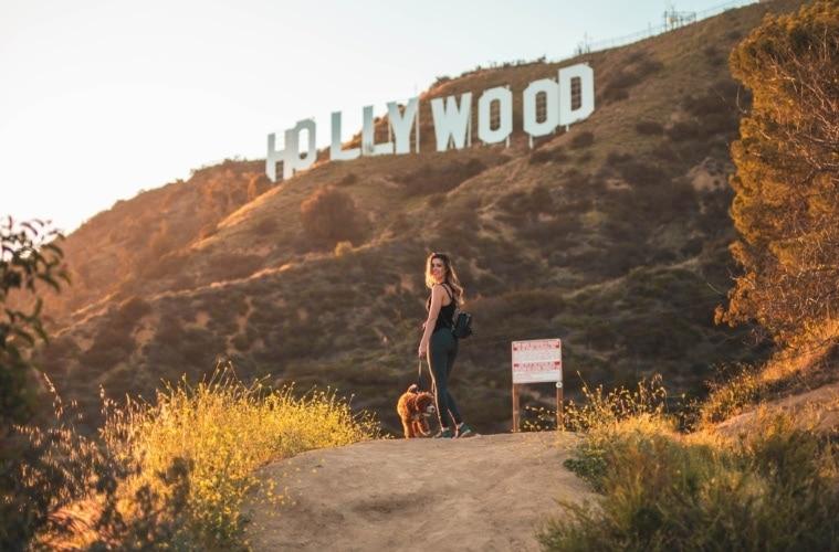 Legendäre Orte in Hollywood