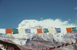 Bergkulisse in Nepal