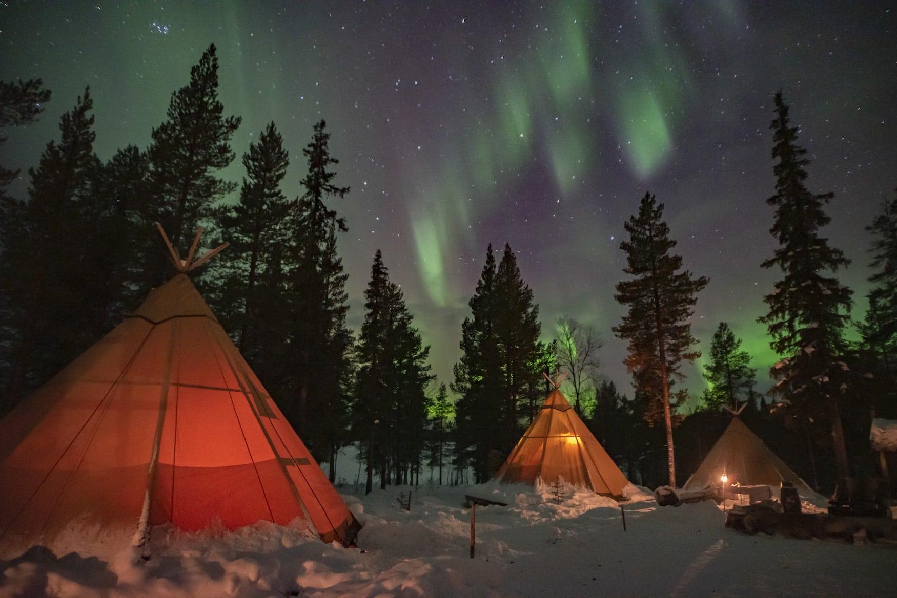 Sapminature in Schwedisch Lappland