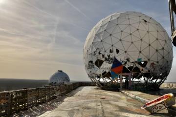 Berlins düstere Orte: Teufelsberg in Berlin