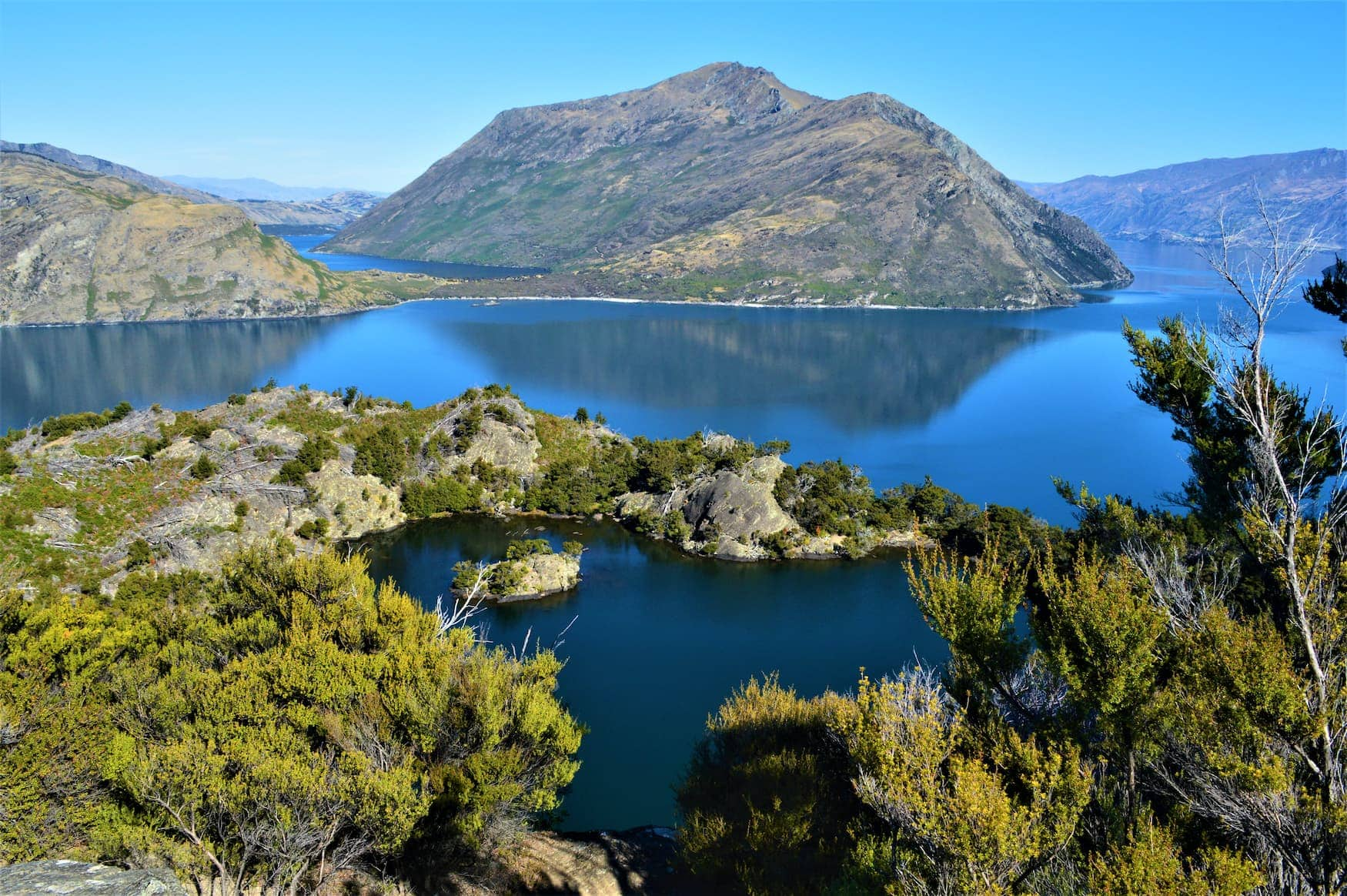 Mou Waho - Die Insel im Lake Wanaka in Neuseeland