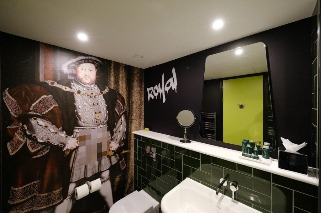 Badezimmer im nhow London