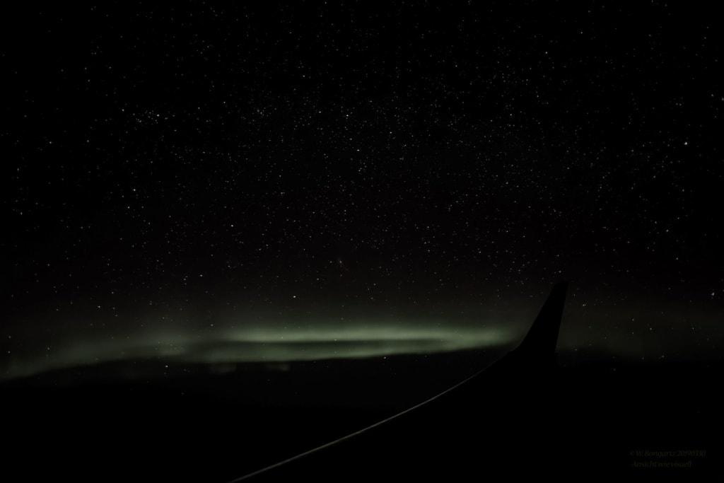 Polarlichterflug