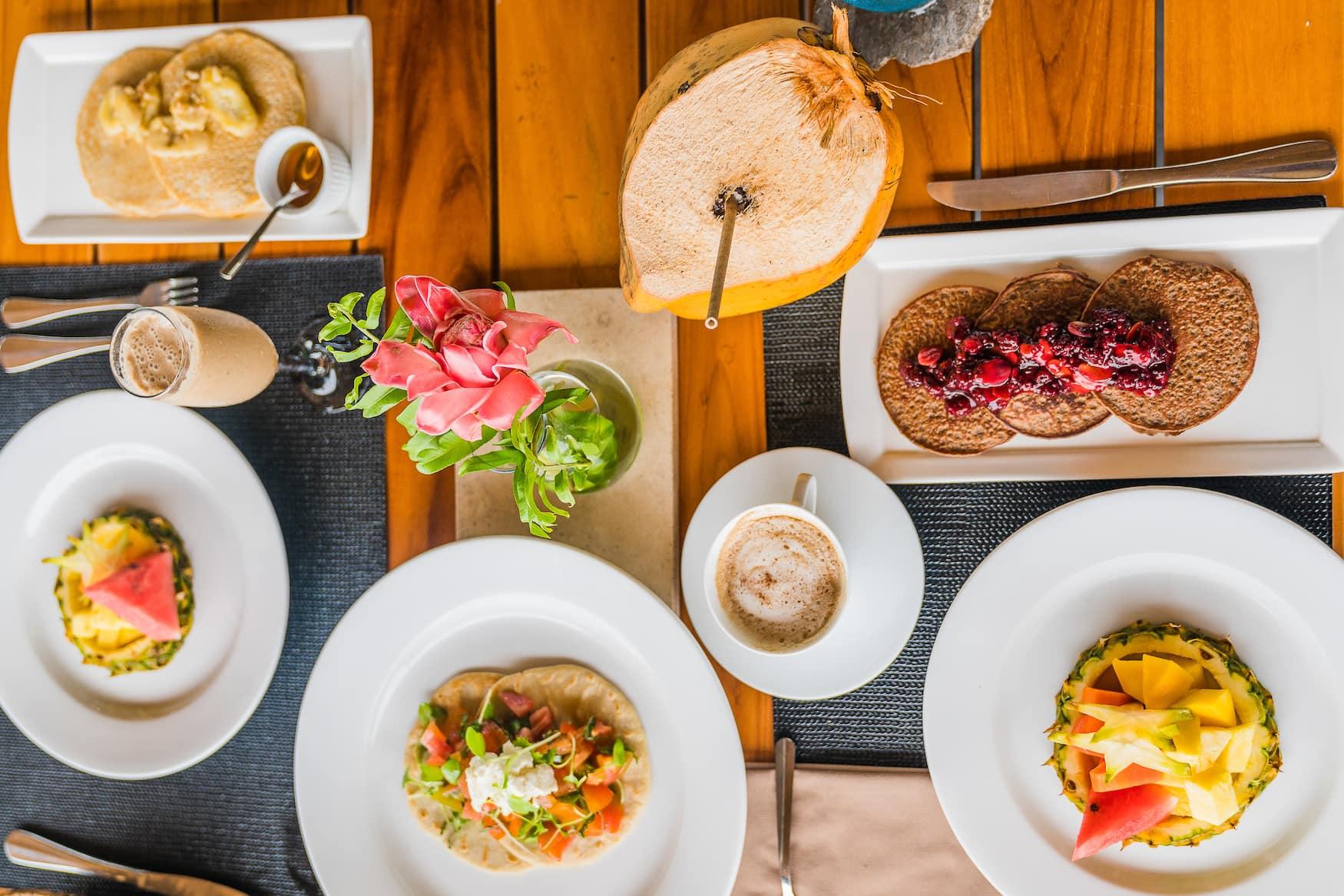 Frühstück, Obst, Hotel, Reise, Costa Rica