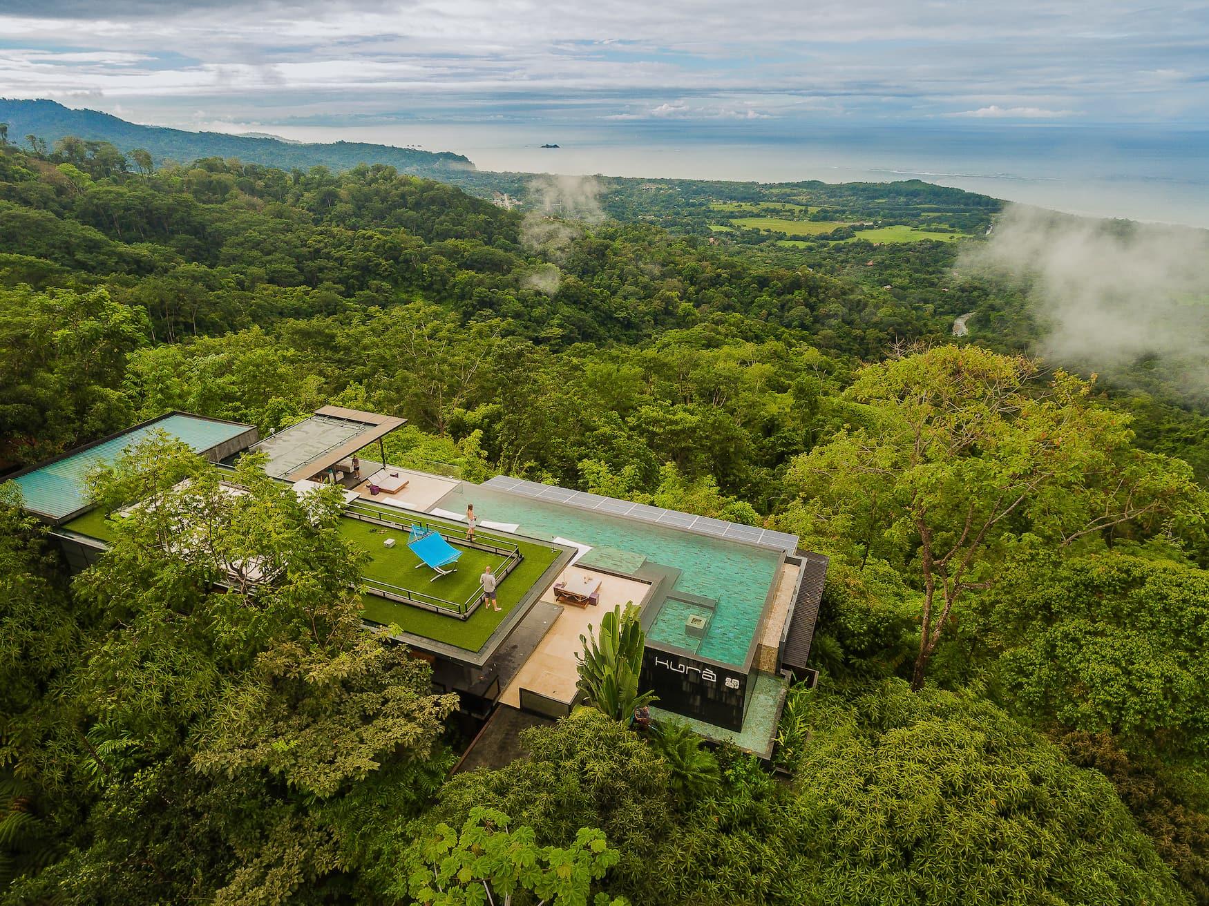 Hotel, Dschungel, Costa Rica, Küste, Uvita
