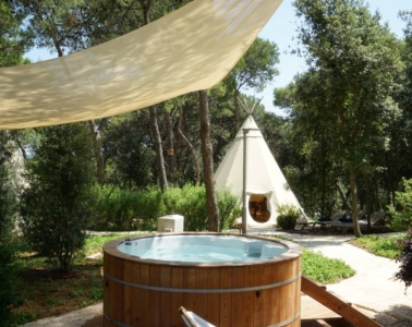 Spa im One 99 Glamping