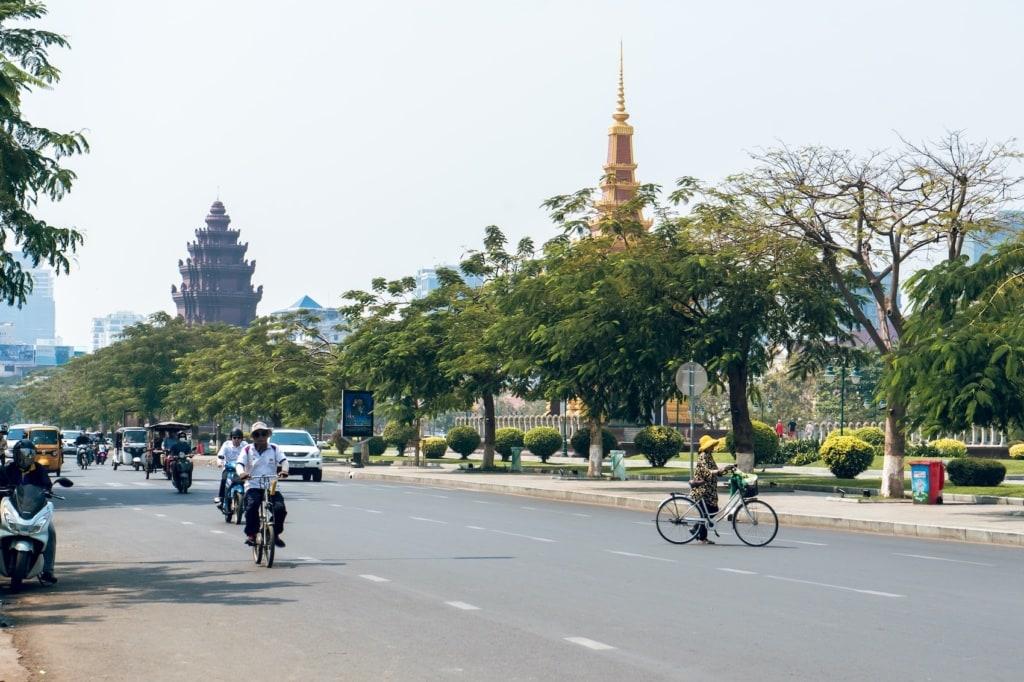 In Phnom Pen gibt es eine Menge zu entdecken!