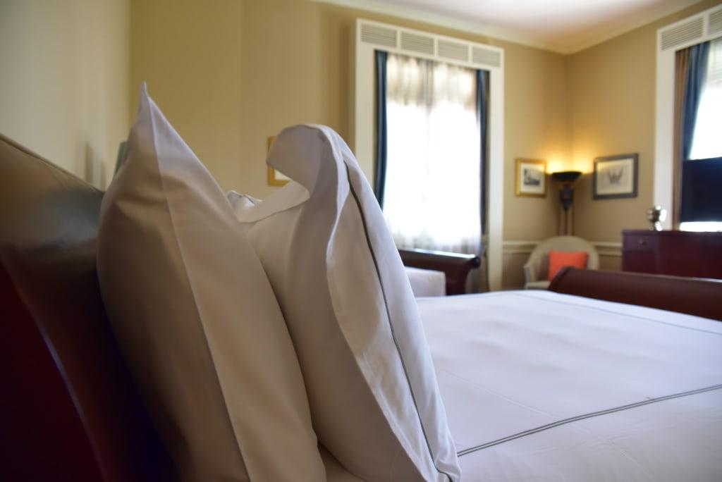 Hotelzimmer in Phnom Penh, in dem Jackie Onassis schlief