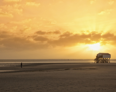 Nordsee bei St. Peter-Ording