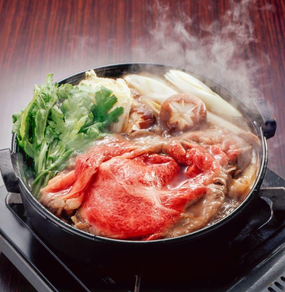 Sukiyaki-Eintopf
