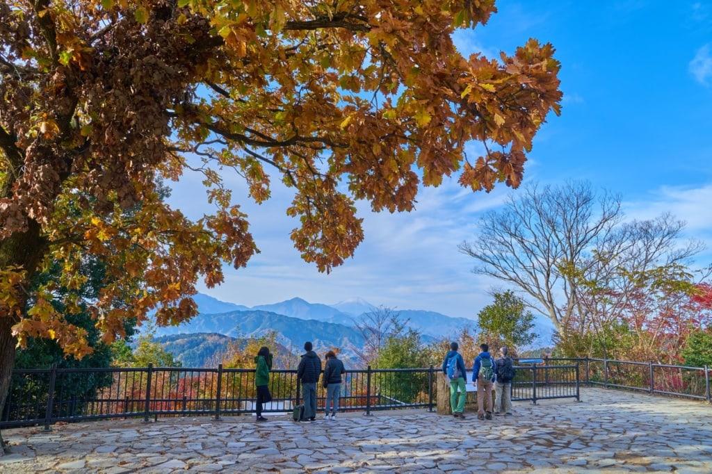 Aussicht auf den Berg Takao