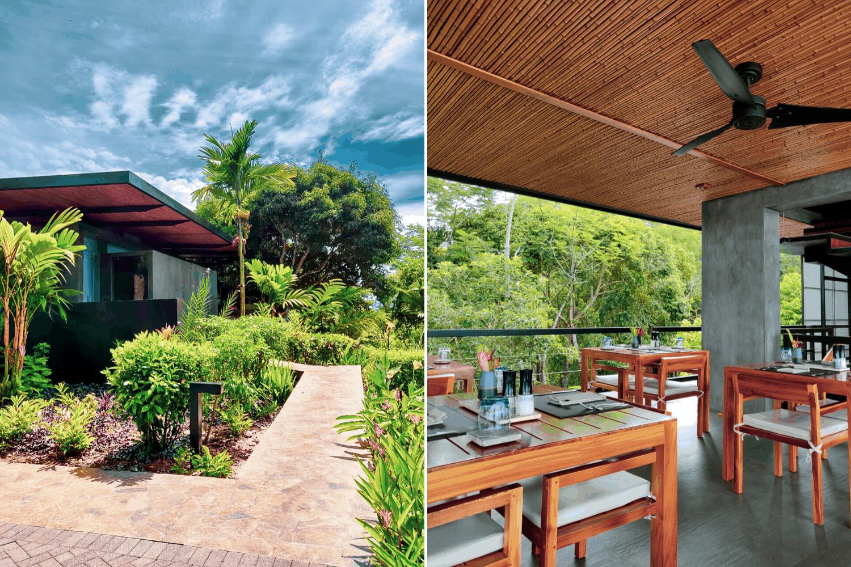 Mitten im Regenwald liegt das Kura bei Uvita, Costa Rica