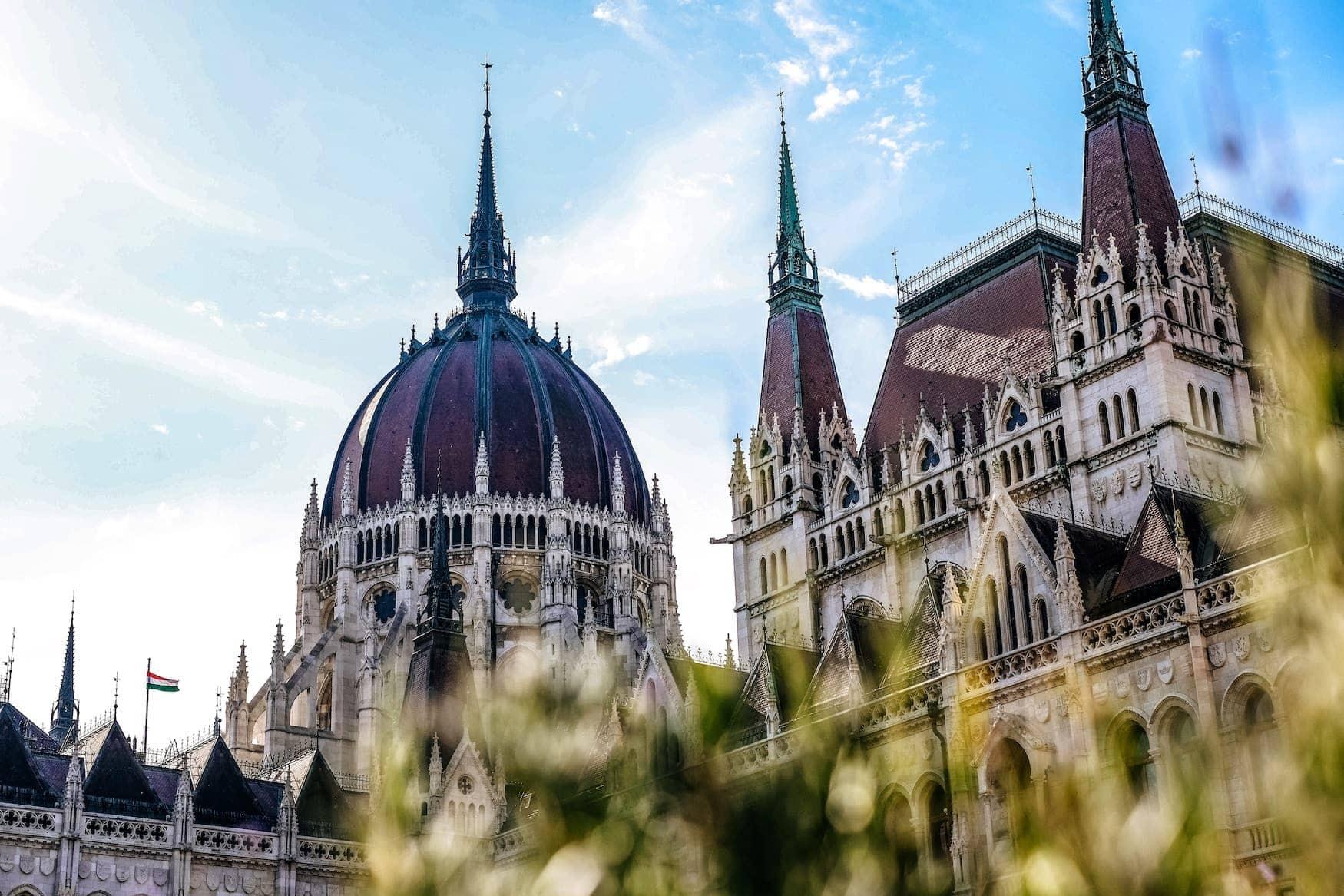 Budapest Parlamentsgebäude