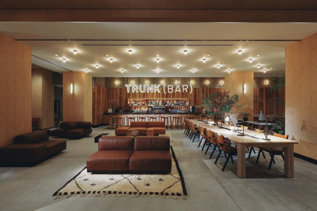 Das Trunk Hotel in Tokio hat eine der schicksten Bars von Shibuya.
