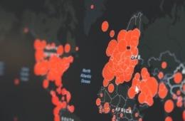 Coronavirus-Weltkarte