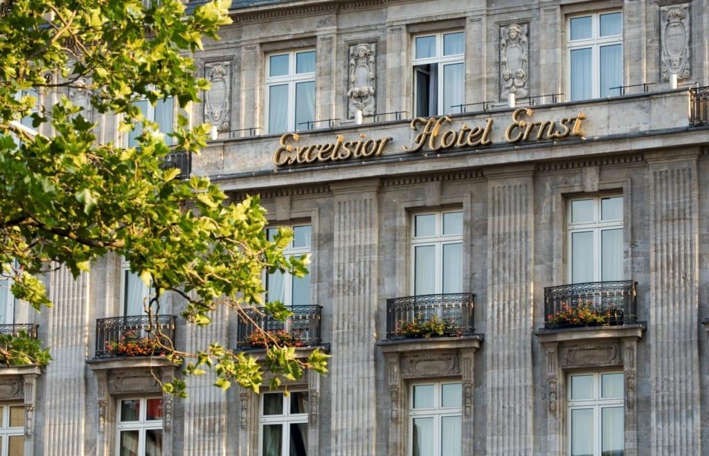 Fassade des Excelsior Hotel Ernst in Köln