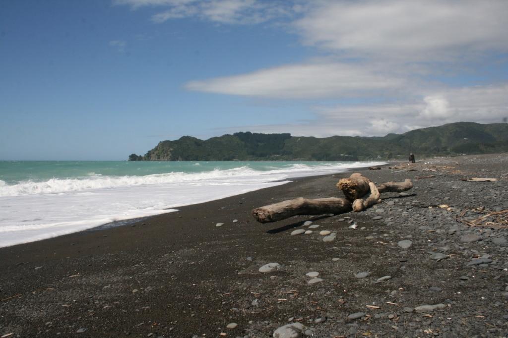 Verlassene Strände erwarten Reisende am East Cape in Neuseeland.