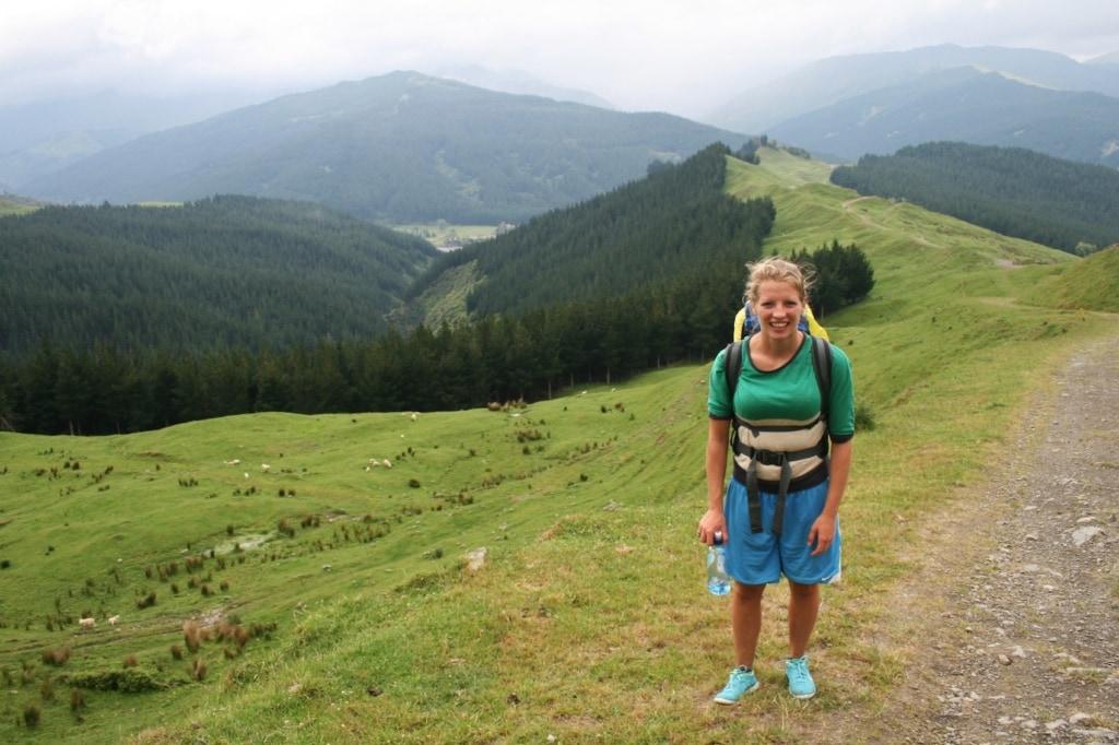 Redakteurin Marie liebt die Berge - kein Wunder, dass sie sich in Neuseeland pudelwohl gefühlt hat.