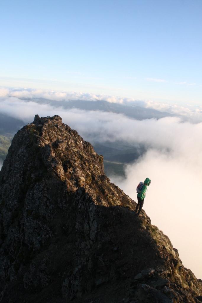 Wer sich auf den Mount Hikurangi in Neuseeland traut, kann mit grandiosen Aussichten rechnen.