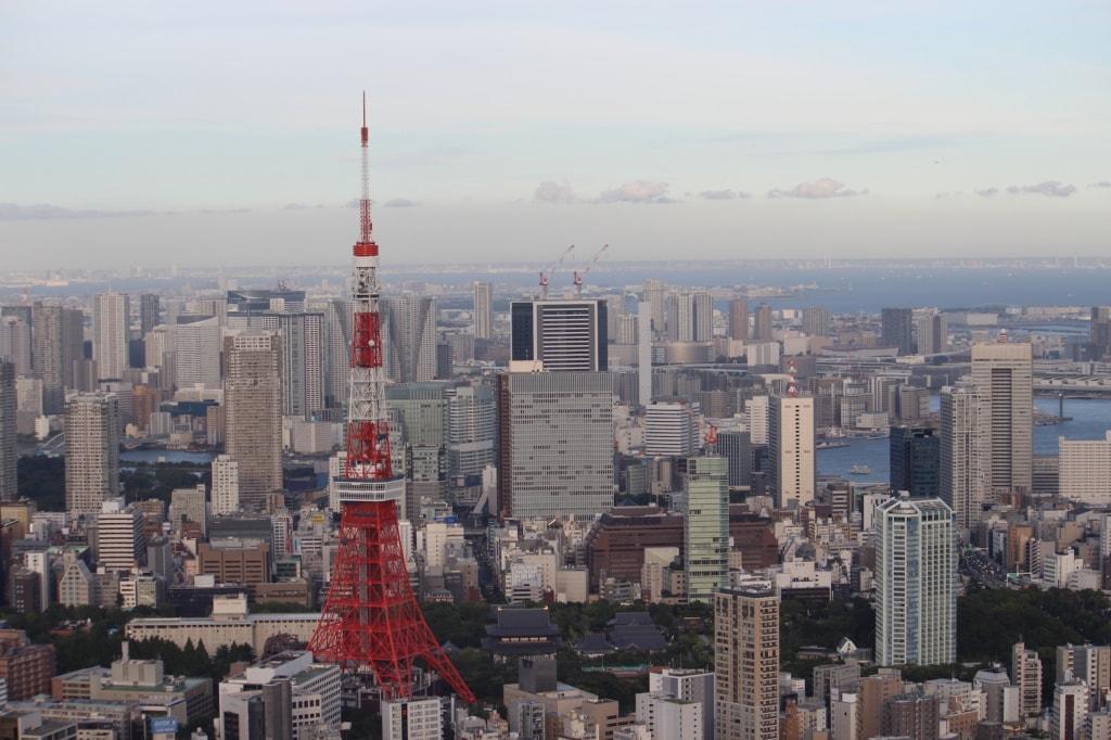 Von den Roppongi Hills hat man einen grandiosen Blick über die Stadt.