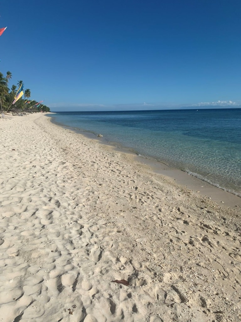 Insel Siquijor Strand