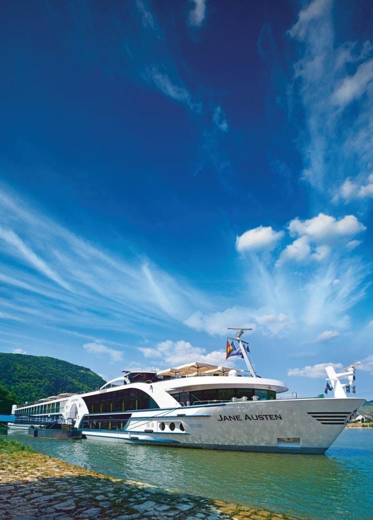 Flusskreuzfahrtschiff Jane Austen von Viva Cruises