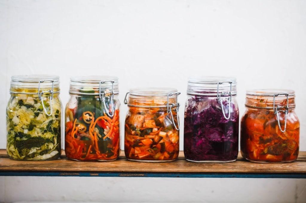 Kimchi-Einmachgläser