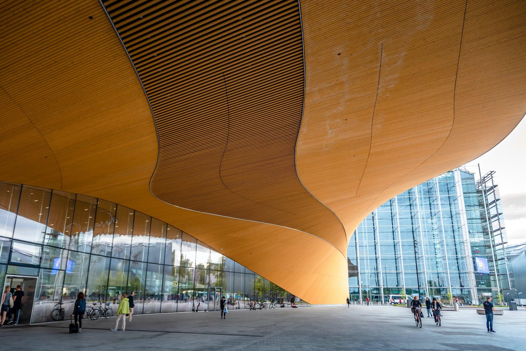 Die Library in helsinki ist ein architektonischer Blickfang