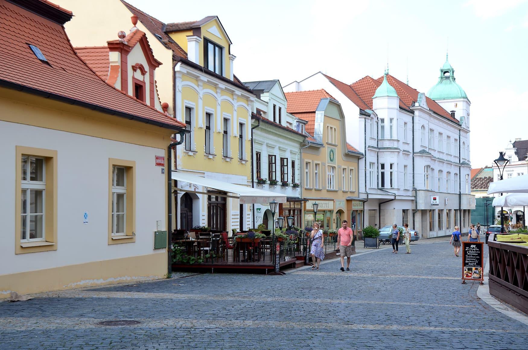 Melnik in Böhmen an der Elbe