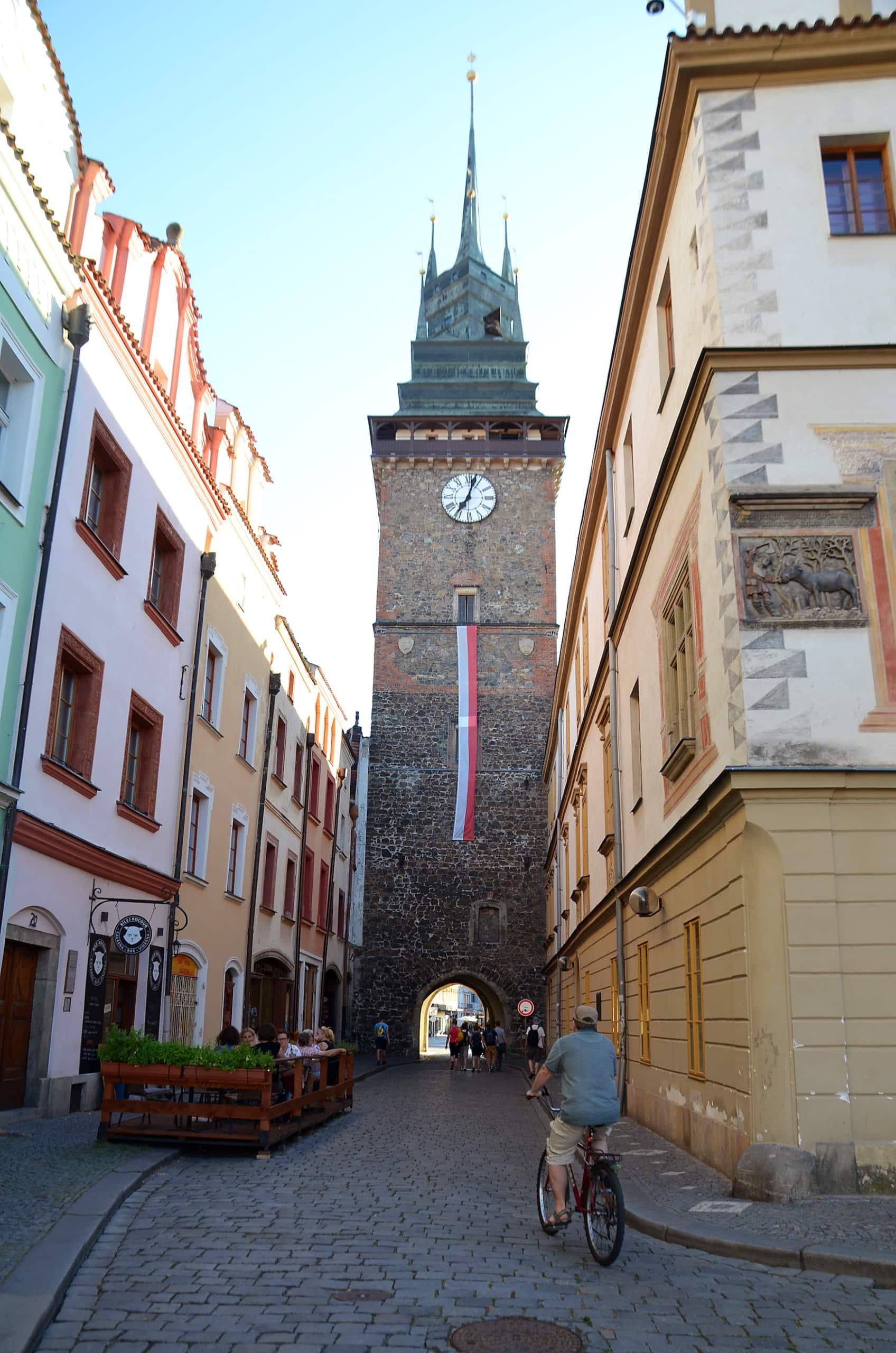 Grüner Turm von Pardubitz