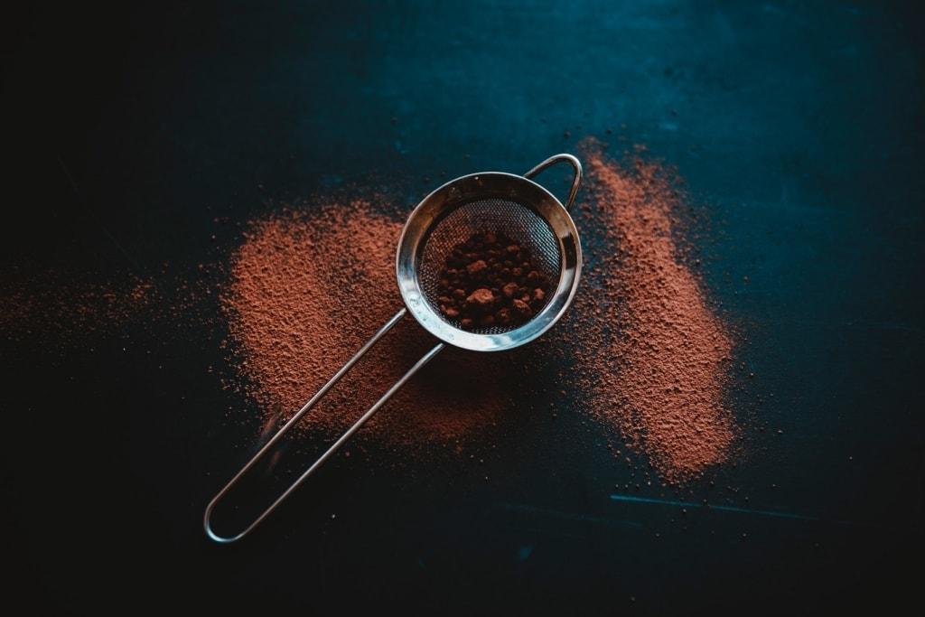 Mit Kakao lassen sich ganz wunderbare Peelings herstellen.